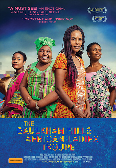 Carnival Studio The Baulkham Hills African Ladies Troupe Key Art