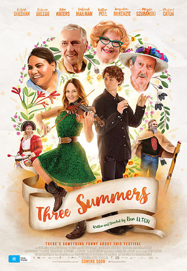 Carnival Studio Three Summers Key Art