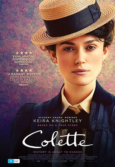 Colette 1 sheet key art poster