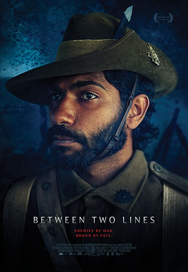 Between Two Lines final key art portrait poster