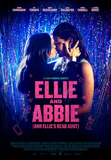 ELLIE AND ABBIE final portrait poster