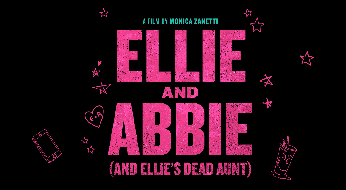 ELLIE AND ABBIE title treatment