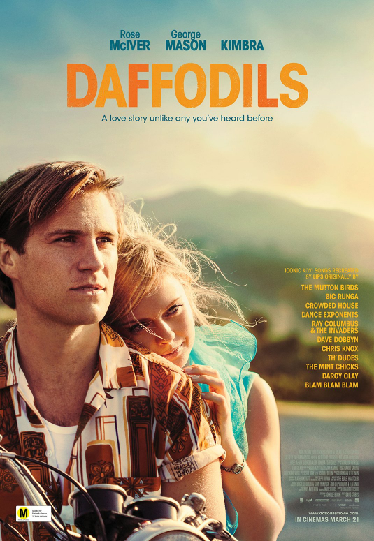 Daffodils final key art portrait poster